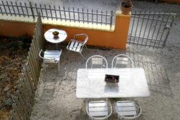 Il tavolo esterno